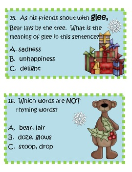 Fun Activities for Bear Stays Up for Christmas!