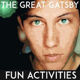 Fun Activities for The Great Gatsby   Classroom Activities   Differentiated
