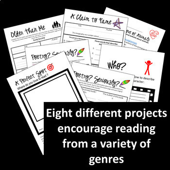 Fun Activities to Encourage Reading, Build Skills - No Prep Printable 8 projects