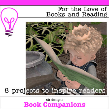 Fun Activities to Encourage Reading, Build Skills - No Prep Bundle of 8 projects