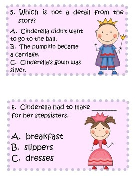 Fun Activities to accompany the Open Court Story Cinderella