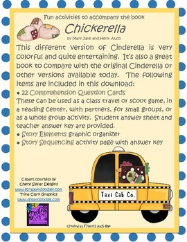 Fun Activities to accompany the book Chickerella by Mary J