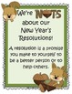 Fun Activities to accompany the book Squirrel's New Year's