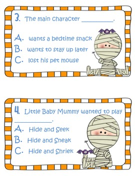 Fun Activities to accompany the book Where's My Mummy? by Carolyn Crimi