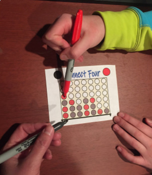 Fun Activity Before Break - Connect Four Tournament
