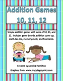 Fun Addition Games - Sums of 10, 11, 12
