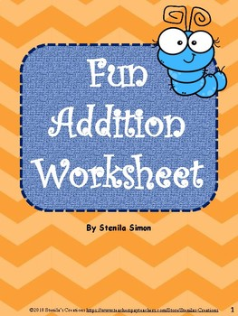 Fun Addition Worksheet