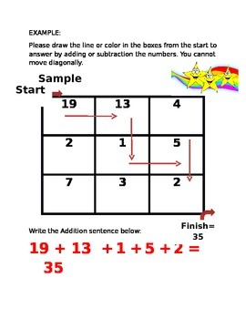 Fun Easy to Use Addition and Subtraction Boxes - Middle Years Package