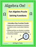 Fun Algebra Puzzles - Solving Function Problems