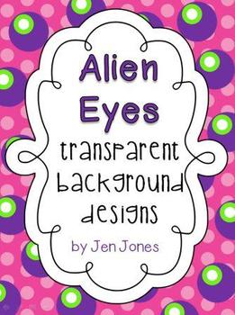 """Fun """"Alien Eyes"""" Frames  {For Personal and Commercial Use}"""