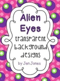 "Fun ""Alien Eyes"" Frames  {For Personal and Commercial Use}"