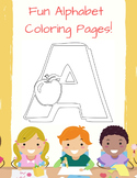 Fun Alphabet Coloring Pages!