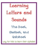 Fun Alphabet Flashcards (for teaching letters and sounds)
