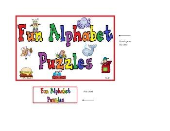 Fun Alphabet Puzzles