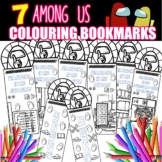 Fun Among Us Colouring Bookmarks **Hook & Motivate Your Students Instantly**