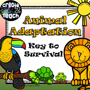 Interactive Animal Adaptations PowerPoint Lesson