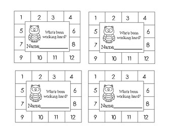 Fun Animal Behavior Punch Cards