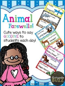 Fun Animal Farewells: 33 Ways to Say Goodbye