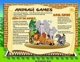 Fun Animal Safari Game printable freebie