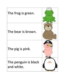 Fun Animal Sentences