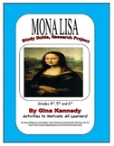 Fun Art Research ENRICHMENT Classroom Project, Mona Lisa,