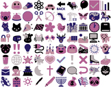 Fun Art & Icons for Activities and Worksheets  - 80 Beauti