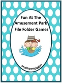 Summer,Interactive File Folder Games, Summer Review, Summer Special Education