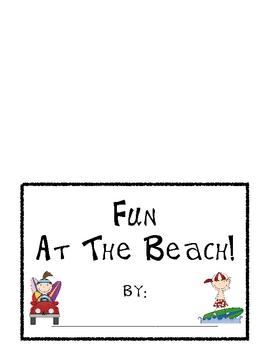 Fun At The Beach! Writing Center