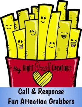 Fun Attention Grabbers- Get your students' attention without nagging!  :)