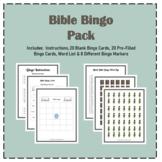 FUN BIBLE BINGO Pack