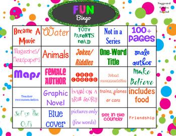 Fun Bingo Grade K