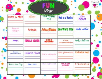 Fun Bingo Grades 1-2