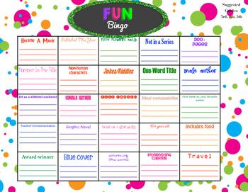 Fun Bingo Grades 3-6