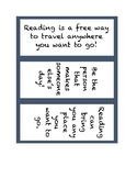 Fun Bookmarks for Students!