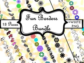 Fun & Cute Borders Bundle
