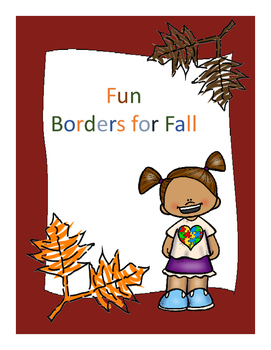 Falling into Fall Borders Freebie