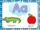 Fun Bright Alphabet Posters and Coloring Sheets