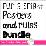 Fun & Bright Posters and Rules Bundle