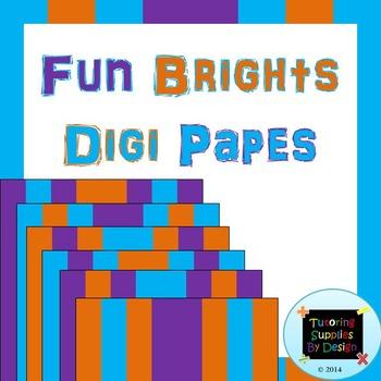 Fun Brights Digi Papes