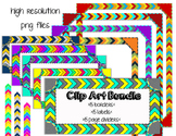 Fun Bundle> Borders, Labels, & Page Dividers **Clip Art**