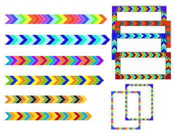 Fun Bundle> Borders, Labels, & Page Dividers **Clip Art**