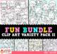 Fun Bundle for April Variety Clip Art Bundle