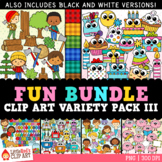 Fun Bundle for August - Variety Clip Art Bundle
