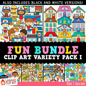 Fun Bundle for February Variety Clip Art Bundle