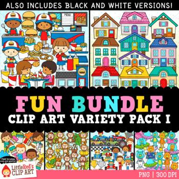 Fun Bundle for February Variety Clip Art Bundle