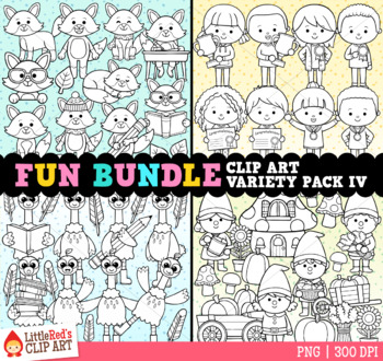 Fun Bundle for October Clip Art Bundle