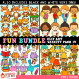 Fun Bundle for October GROWING Clip Art Bundle