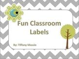 Fun Cabinet Labels
