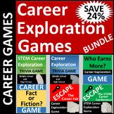 Fun Career Exploration Games Bundle SAVE 24%