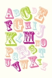 Fun Carnival Alphabet Classroom Poster